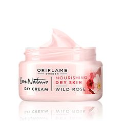 Love Nature Day Cream Wild Rose 50 ml for people with dry skin