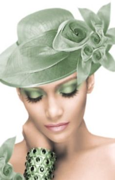 Glowing in Mint Green Go Green, Green Colors, Mint Green, Pistachio Green, Green Hats, Fancy Hats, Fascinator Hats, Fascinators, Headpieces