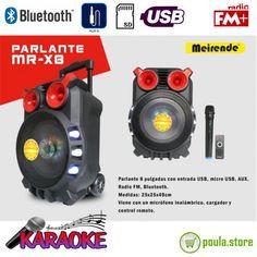 "Battery Speaker 8"" Meirende X8 80W Karaoke, Bluetooth, Usb, Online Shopping, Electronics, Charger, Net Shopping, Consumer Electronics"