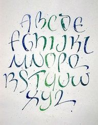 Alphabets Fonts Design
