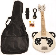 Panda guitar!!! Must have this one too
