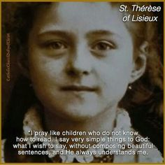 +St Therese of Lisieux+ Jesus promised that those who leave homes and fields, mother, father, sister, brother, virtually everything for his namesake will receive many more friends in return!
