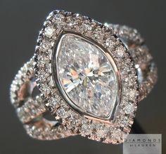 marquise diamond rings | diamond ring