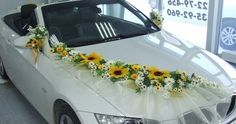 wedding car decoration #7