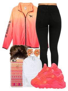 """""""."""" by honey-cocaine1972 ❤ liked on Polyvore featuring Ciner, Casetify, Herschel Supply Co. and NIKE"""