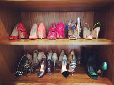 Shoe shelf solutions