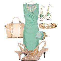 Mint dress#733