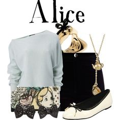 """""""Alice"""" by agust20 on Polyvore"""