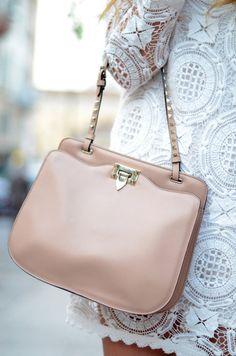 pale pink purse