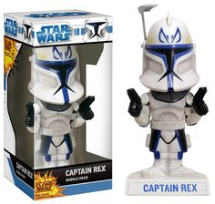 Captain Rex Star Wars The Clone Wars Bobblehead by Funko NIP NIB