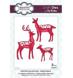 Creative Expressions CED3042 Deer Family