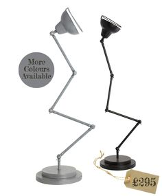 Vicky anglepoise floor lamp