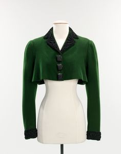 Worn by the inimitable Millicent Rogers, this jacket was designed for Schiaparelli's spring 1938 collection
