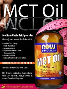 Medium Chain Triglycerides (MCT) Oil [INFOGRAPHIC]