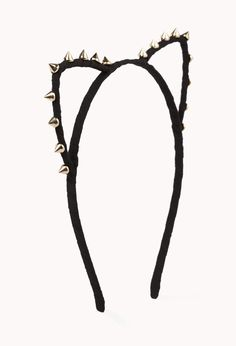 Spiked Cat Ear Headband | FOREVER21 - 1076915400
