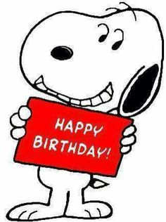 Cheesy Grin birthday greeting from Snoopy Happy Birthday Snoopy Images, Birthday Wishes For Kids, Happy Birthday Wishes Cards, Happy Birthday Pictures, Happy Birthday Quotes, Funny Birthday, Snoopy Love, Snoopy And Woodstock, Snoopy Pictures