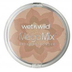 * Wet N' Wild - Mega Mix Bronzig Powder - light My Beauty, Hair Beauty, Wet N Wild, Powder, Blush, Eyeshadow, Make Up, Women, Polyvore