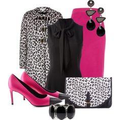 Pink & Leopard