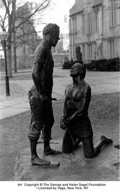 George Segal-1978-Abraham and Isaac. Princeton University