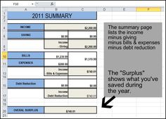 good expense tracker spreadsheet. She uses it as a budget but there isn't a place for budgeted vs actual spend.