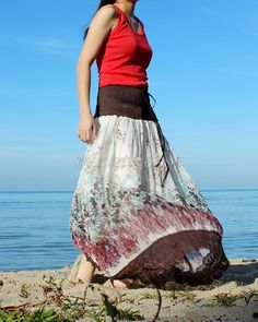 Hey, I found this really awesome Etsy listing at https://www.etsy.com/listing/126660542/women-skirt-floral-long-skirt-fall-party