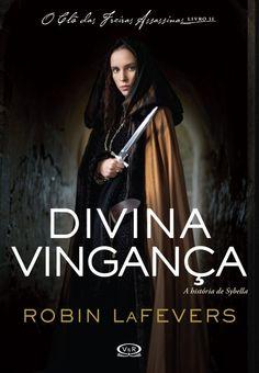Capa do livro Divina vingança