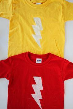 Lightning Bolt Shirt DIY
