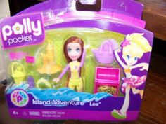 Polly Pocket Island Adventure Lea by Mattel. $8.99. Polly Pocket New Waterplay Doll Packs - Accessory