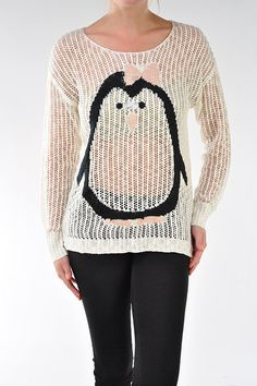 Novelty Baby Penguin Sweater