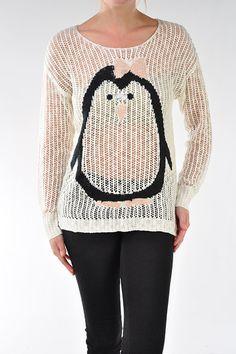 Novelty Baby Penguin Sweater