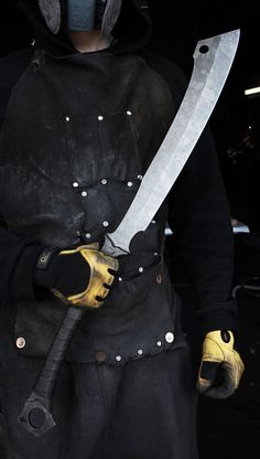 The Reaver Cleaver Blade Knife. The Reaver Cleaver is a Zombie Tool and thus is full-tang, heat-treated to a Rockwell of 55, sharpened, sheathed and the shit. @aegisgears https://www.zombietools.net/shop/reaver-cleaver-2/