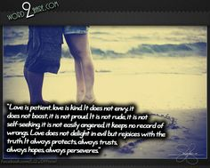 boasting picture quotes | Love is patient | free quotes