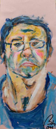 Bachmors selfportrait January 03 #self-portrait #self-portraitproject #bachmors @bachmors artist #artcollector #artcollective #emergingart #artwork #artcreation #capimans