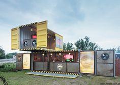 Desperados containers by Horeca Strategies