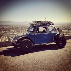 Off road Beetle - the perfect truck ... its a VW ( everyone knows your cool ) and its off-raod ready ...whats not to like ?