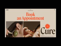 This is another piece of the Cure Skincare project, which I designed some time ago. Today, it is a book an appointment section scroll animation with a subtle morphing effect. Web Design Trends, Ux Design, Layout Design, Branding Design, Graphic Design, Website Layout, Web Layout, Minimal Web Design, Ecommerce