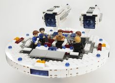 KRE-O STAR TREK U.S.S. ENTERPRISE Building Set, Hasbro, Star Trek Into Darkness