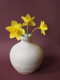 váza nejen na jaro Vase, Home Decor, Decoration Home, Room Decor, Vases, Home Interior Design, Home Decoration, Interior Design, Jars