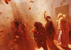 Colours rule at Holi celebrations Holi #Holi