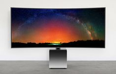 Samsung and Yves Béhar Have Made an 82-Inch TV That's Not Hideous - Businessweek
