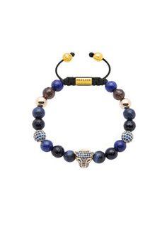 Nialaya Bracelet Panther With Clear Cz Únor Náramky Nakupování Móda