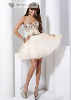 4963b2d476c Elegant A-line Sweetheart Mini Short Homecoming Sweet Sixteen Dress