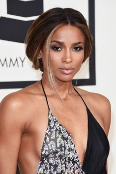 The Best Beauty Looks At The 2016 Grammy Awards #refinery29  http://www.refinery29.com/2016/02/103293/best-makeup-hair-grammy-awards-2016#slide-9  CiaraWe love how Ciara paired an easy, loose ponytail with a sultry smoky eye and nude lip — her look was the epitome of effortless glamour....