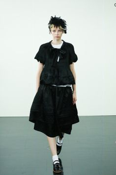 [No.22/87] tricot COMME des GARÇONS 2014春夏コレクション | Fashionsnap.com