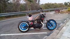 Kawasaki Vulcan EN500 Custom Bobber Motorcycle