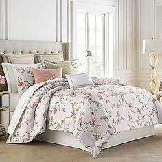Wedgwood® Sweet Plum Comforter Set in Pink