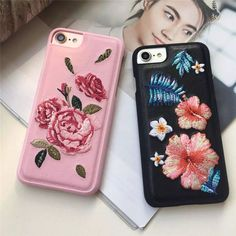 Smart Phone Cases iPhone case cover back case starts embroidered floral design #iphoneaccessories, #Iphone6Cases
