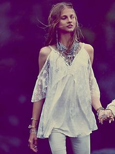 Free People And We All Shine On Tunic, $118.00