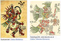 """Los Aztecas. Uno de sus dioses más importante fue Huitzilopochtli, dios azteca de la guerra, representaba al sol. El dios Quetzalcóatl """"serpiente emplumada"""" también era un ser divino ampliamente adorado por otros pueblos mexicanos como mayas, toltecas, chichimecas, etc."""