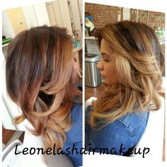 Perfect ombre hair at Posh